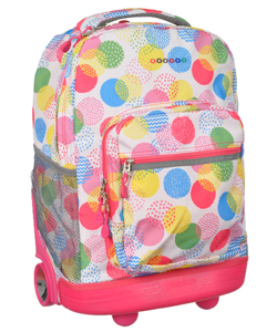 "J World ""Fireworks"" Rolling Backpack - CookiesKids.com"