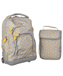 "J World ""Lollipop"" Rolling Backpack with Lunchbox - CookiesKids.com"