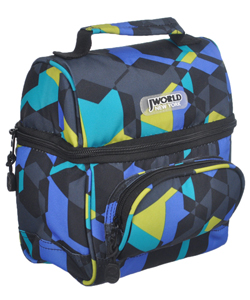 "J World ""Geometric"" Insulated Lunch Box - CookiesKids.com"