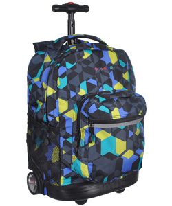 Boys Rolling Backpacks from Cookie's Kids