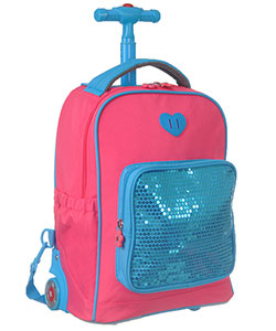 "J World ""Spangled"" Rolling Mini Backpack - CookiesKids.com"