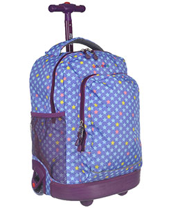 "J World ""Multi Star"" Rolling Backpack - CookiesKids.com"