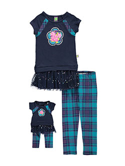 "Dollie & Me Big Girls' ""Starry Sky"" 2-Piece Outfit with Doll Outfit (Sizes 7 – 16) - CookiesKids.com"
