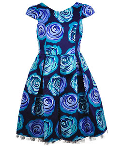 Sweet Heart Rose Big Girls' Dress (Sizes 7 – 16) - CookiesKids.com