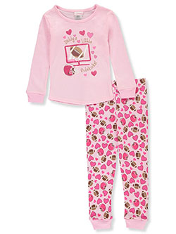 Girls' Sidekicks 2-Piece Pajamas by Youngland in Multi