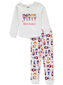 Girls' Heroes 2-Piece Pajamas by Youngland in Multi