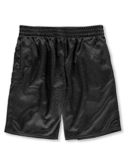 Boys' Athletic Shorts by Athletic Works in black and gray