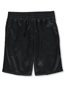 Boys' Athletic Shorts by Athletic Works in Charcoal gray
