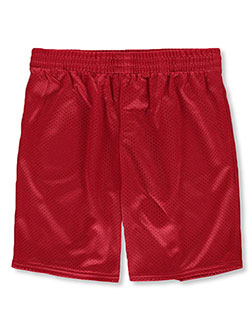 Boys' Athletic Shorts by Athletic Works in Red