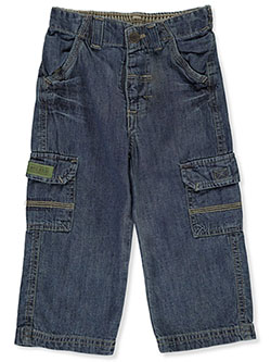 Baby Boys' Cargo Jeans by Kidz Concept in Denim
