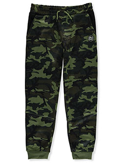 Boys' Camo Joggers by RBX in Green camo - Sweatpants