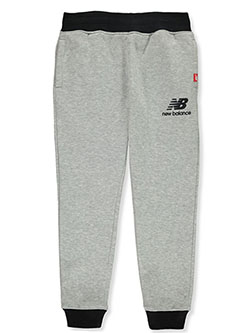 Boys' Joggers by New Balance in Heather gray