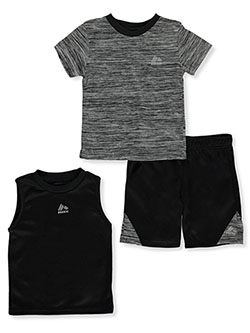 Baby Boys' 3-Piece Shorts Set Outfit by RBX in Black
