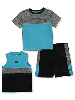 Baby Boys' 3-Piece Shorts Set Outfit by RBX in Aqua