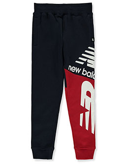 Boys' Logo Joggers by New Balance in Black