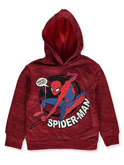 Boys' Web Swing Pullover Hoodie by Spider-Man in Red, Boys Fashion