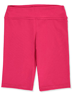 Women's Wide Elastic Band Bike Shorts by JP in fuchsia, maroon and royal blue - $5.99