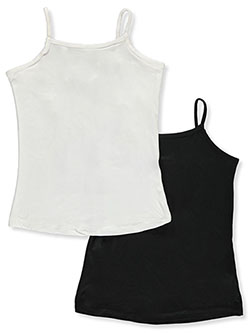 Girls' 2-Pack Cami Tops by Dreamstar in Multi
