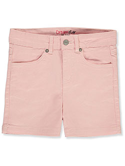 Girls' Twill Shorts by Dreamstar in Rose