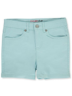 Girls' Twill Shorts by Dreamstar in Blue