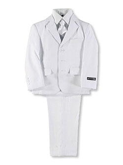 """Floe"" 5-Piece Suit by Kids World in White"