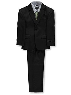 "Little Boys' ""Titchwell"" 5-Piece Suit by Kids World in Dark olive"