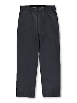 Husky Slim Fit Dress Pants in black, charcoal gray, stone and more