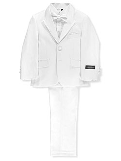 Little Boys' 5-Piece Suit by Kids World in White