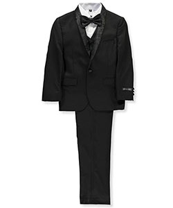 Boys' 5-Piece Suit by Kids World in Black
