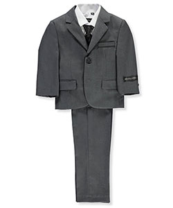 Baby Boys' 5-Piece Suit by Kids World in Gray