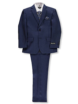 Boys' 5-Piece Suit by Kids World in Navy