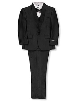 Boys' 5-Piece Suit by Kids World in Black, Boys Fashion
