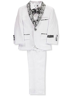 Baby Boys' 5-Piece Suit by Kids World in White