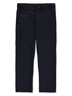 Boys' Dress Pants by Kids World in black, burgundy, charcoal gray and navy - Dress Pants