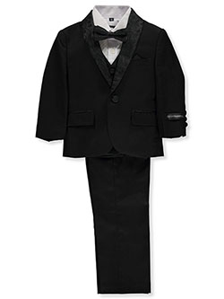 Baby Boys' 5-Piece Suit Pants Set by Kids World in Black