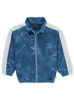 Boys' Trico Track Jacket by Matrix in Turquoise, Boys Fashion