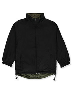 Matrix Boys' Windbreaker Jacket by Matrik in Black, Boys Fashion
