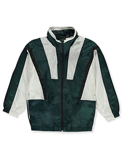 Matrix Boys' Windbreaker Jacket by Matrik in Hunter green, Boys Fashion