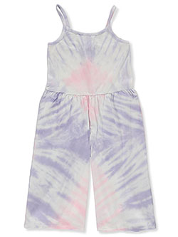 Girls' Tie-Dye Jumpsuit by Kensie in Multi