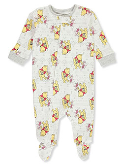 Winne The Pooh Baby Boys' Footed Coverall by Disney in Multi
