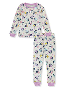 Minnie Mouse Medley 2-Piece Thermal Long Underwear by Disney in Multi, Girls Fashion