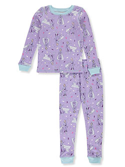 Frozen Elsa Medley 2-Piece Thermal Long Underwear by Disney in Multi