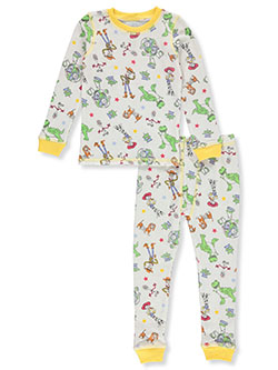 Toy Story Character Print 2-Piece Thermal Long Underwear by Disney in Multi