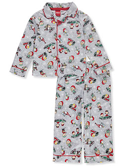 Boys' Holiday Medley 2-Piece Pajamas by Peanuts in Multi, Sizes 2T-4T