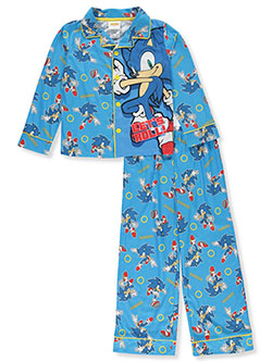 Let's Roll! 2-Piece Pajamas by Sonic the Hedgehog in Multi
