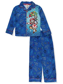 Boys' Character Medley 2-Piece Pajamas by Super Mario in Multi