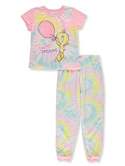 Girls' Tweety Bird 2-Piece Pajamas by Looney Tunes in Yellow/multi