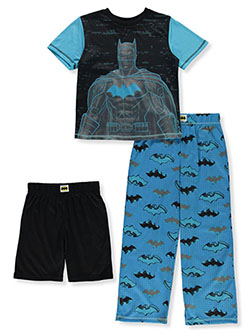 DC Comics Batman Vector 3-Piece Pajamas Set by Batman in Multi