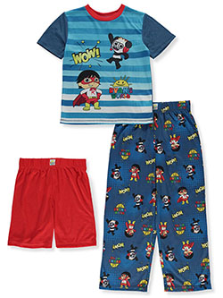 Boys' Wow 3-Piece Pajamas by Ryan's World in Multi