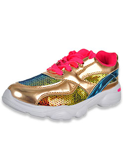 Girls' Zion Sneakers by Krazy Kicks in Rose gold